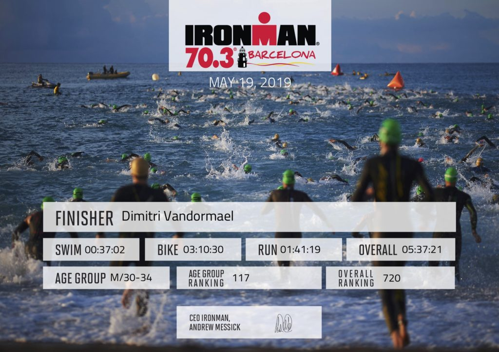Ironman Finisher Certificate