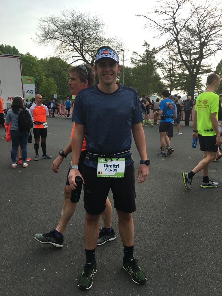 Dimi Pre Start Marathon