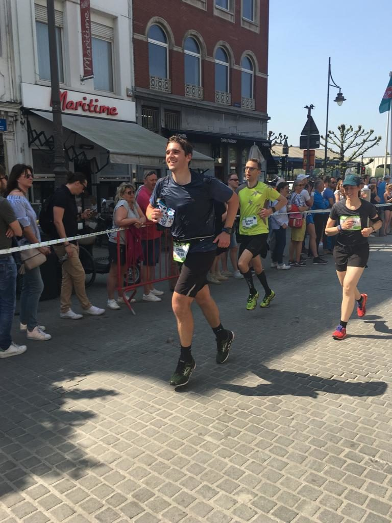 Finish Marathon in Zicht