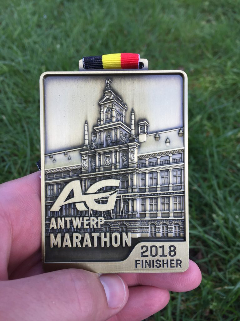 Marathon Antwerpen Finisher Medal