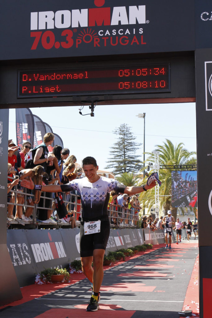 Finish 1 Ironman 70.3 Cascais