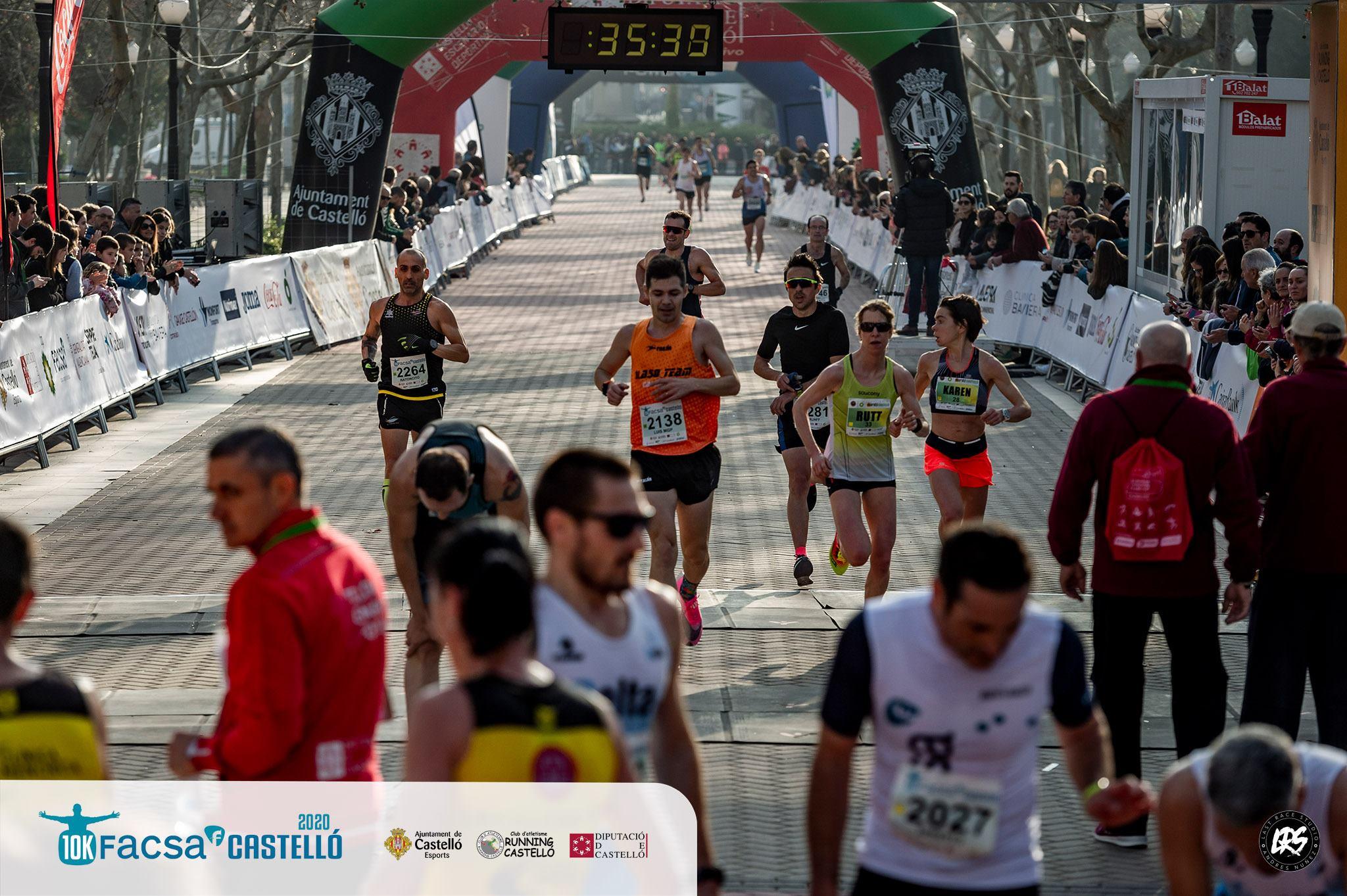 Castellon Karen Finish 10 km